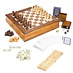 Trademark Games 7-in-1 - Wood Game Center