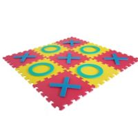 Interlocking Foam Square Tic-Tac-Toe Game