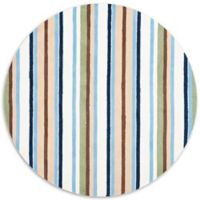 Safavieh Kids® Stripe 6-Foot Round Multicolor Area Rug