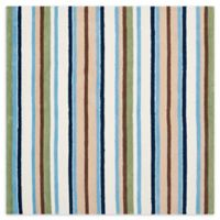 Safavieh Kids® Stripe 6-Foot Square Multicolor Area Rug
