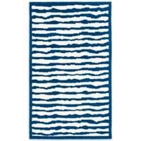 Safavieh Kids® Wave Stripe 8-Foot x 10-Foot Areas Rug in Blue