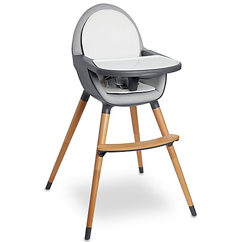 Skip Hop 174 Tuo Convertible High Chair In Charcoal Grey