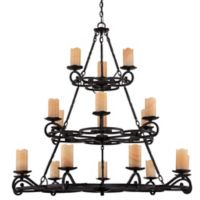 Quoizel Armelle 18-Light Chandelier in Imperial Bronze