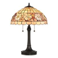 Quoizel Sea Shell Collection Sanibel Table Lamp in Vintage Bronze