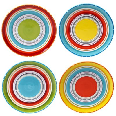 certified mariachi dinner plates set 4