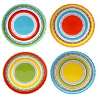 Certified International Mariachi Salad Plates (Set 4)