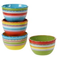 Certified International Mariachi Ice Cream Bowls (Set 4)
