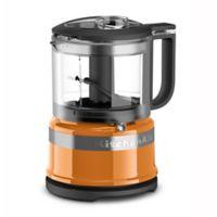 KitchenAid® 3.5-Cup Mini Food Processor in Tangerine