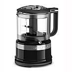 KitchenAid® 3.5-Cup Mini Food Chopper in Onyx Black