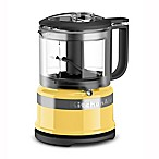 KitchenAid® 3.5-Cup Mini Food Processor in Majestic Yellow