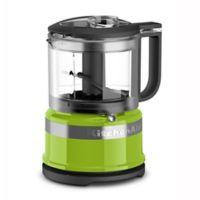 KitchenAid® 3.5-Cup Mini Food Processor in Green Apple