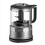 KitchenAid® 3.5-Cup Mini Food Processor in Contour Silver