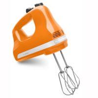 KitchenAid® 5 Speed Hand Mixer in Tangerine