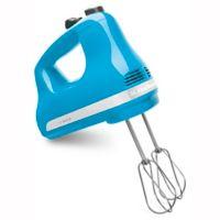 KitchenAid® 5 Speed Hand Mixer in Crystal Blue