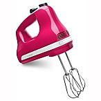 KitchenAid® 5 Speed Hand Mixer in Cranberry