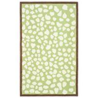 Safavieh Kids® Pebbles 8-Foot x 10-Foot Area Rug in Green/Ivory