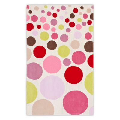 Safavieh Kids® Polka Dot 8 Foot X 10 Foot Multicolor Area Rug
