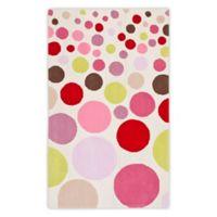 Safavieh Kids® Polka Dot 8-Foot x 10-Foot Multicolor Area Rug