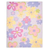 Safavieh Kids® Pastel Flowers 8-Foot x 10-Foot Multicolor Area Rug
