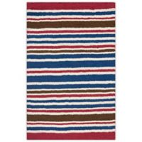 Safavieh Kids® Stripe Print 3-Foot x 5-Foot Accent Rug in Ivory