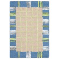 Safavieh Kids 3-Foot x 5-Foot Rug in Taupe/Blue