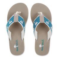 Margaritaville Size 8 Breezy Women's Flip Flop in Harbor Blue