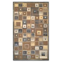 Couristan® Super Indo Naturals Abstract 2-Foot x 4-Foot Accent Rug in Brown
