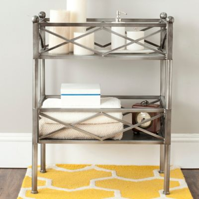 buy bathroom storage shelves from bed bath & beyond