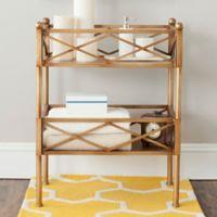Safavieh Jamese Storage Shelves in Gold