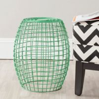 Safavieh Eric Stool/End Table in Green