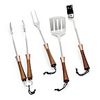 Schmidt Brothers® Copper Top BBQ 4-Piece Grilling Tool Set