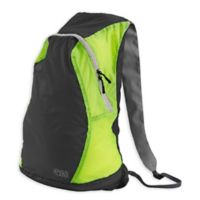 Lewis N. Clark Electrolight™ Backpack in Charcoal/Yellow