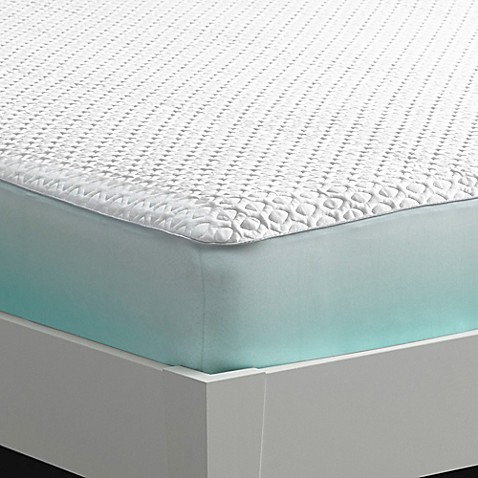 bedgear® ver-tex® cooling performance mattress protector in white