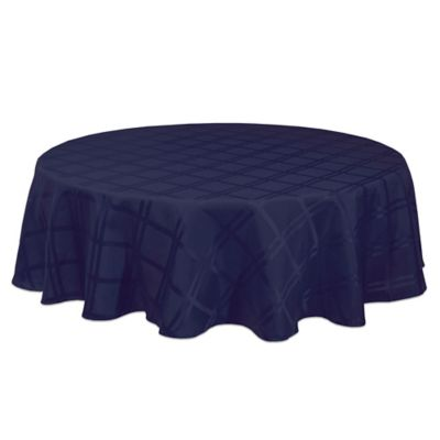 Origins™ Microfiber 70 Inch Round Tablecloth In Ink
