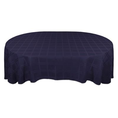 Superb Origins™ Microfiber 60 Inch X 84 Inch Oval Tablecloth In Ink