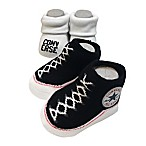 Converse Size 0-6M 2-Pack Booties in Black