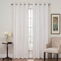 Profile 84-Inch Grommet Top Window Curtain Panel in White