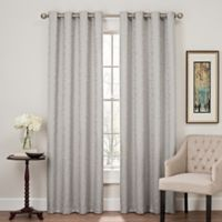 Profile 84-Inch Grommet Top Window Curtain Panel in Silver