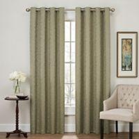 Profile 108-Inch Grommet Top Window Curtain Panel in Green