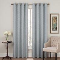 Profile 84-Inch Grommet Top Window Curtain Panel in Blue
