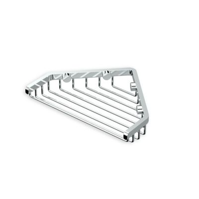 Gatco 7 Inch Shower Corner Basket
