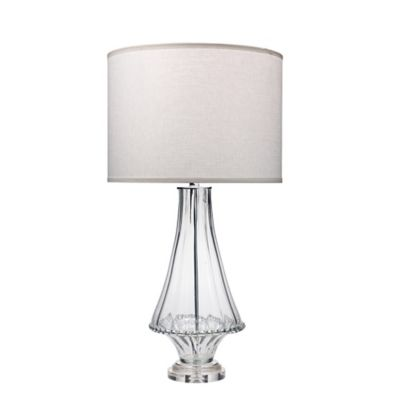 Buy clear table lamp from bed bath beyond simone table lamp in clear aloadofball Choice Image