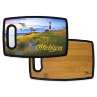 Totally Bamboo® Poly-Boo Michigan Serving & Cutting Board