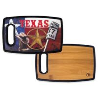 Totally Bamboo® Poly-Boo Texas Serving & Cutting Board