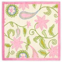 Safavieh Kids® Floral Vine 5-Foot Square Area Rug in Ivory/Pink