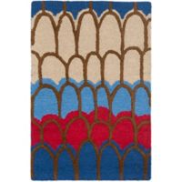 Safavieh Kids® Patches 3-Foot x 5-Foot Area Rug in Blue/Multi