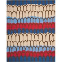Safavieh Kids® Patches 8-Foot x 10-Foot Area Rug in Blue/Multi
