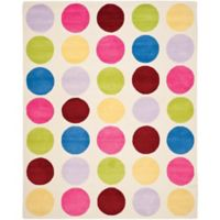 Safavieh Kids® Multicolor Dots 5-Foot x 8-Foot Area Rug
