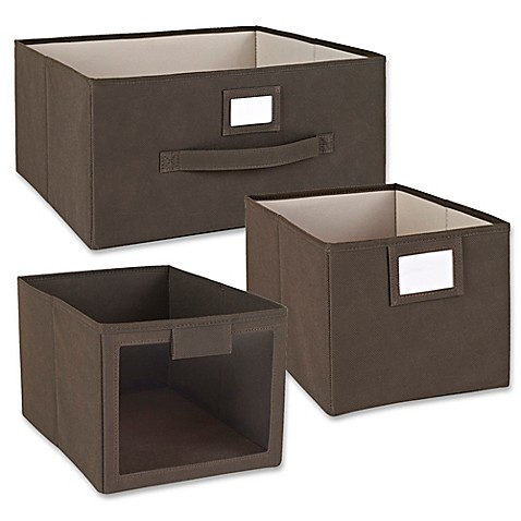 ClosetMaid® Fabric Bin And Drawer Collection In Brown