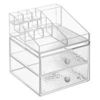 iDesign® Vanity Organizer™ Rain 2-Drawer Cosmetic Organizer
